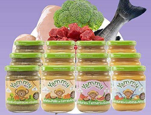 Comida bebe ecológica
